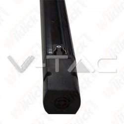 2 Meters Black 4 Core Track