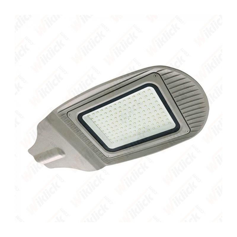 120W SMD Street Lamp Grey Body Grey Glass 4000K