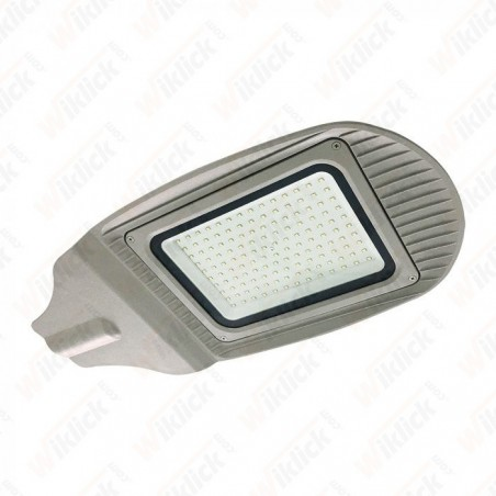 120W SMD Street Lamp Grey Body Grey Glass 6400K