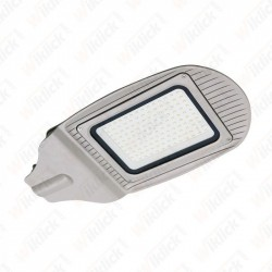 100W SMD Street Lamp Grey Body Grey Glass 4000K