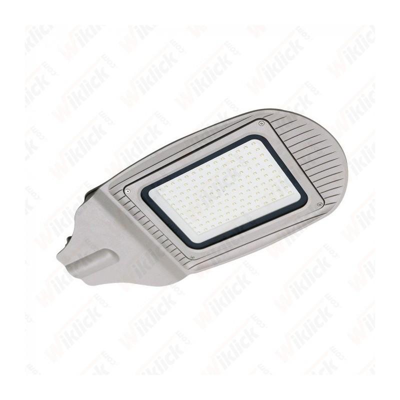 100W SMD Street Lamp Grey Body Grey Glass 4000K