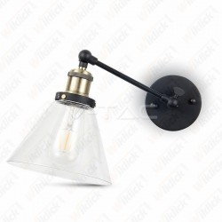 Wall Lamp W/V Cone Shape Glass ?140??