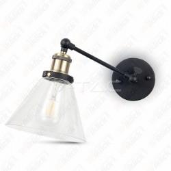 Wall Lamp W/V Cone Shape Glass ?140??