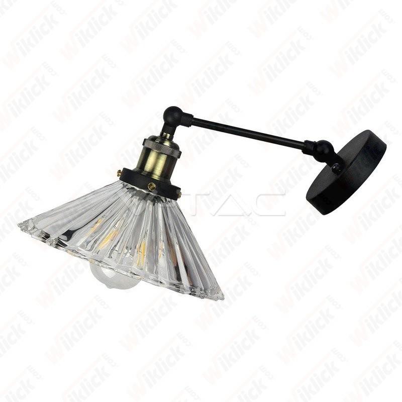 Wall Lamp W/V Shape Glass ?180??