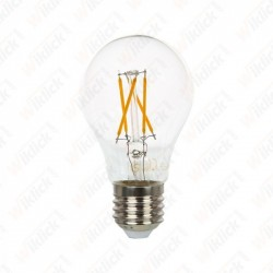 LED Bulb - 4W Filament Cross E27 A60 2700K