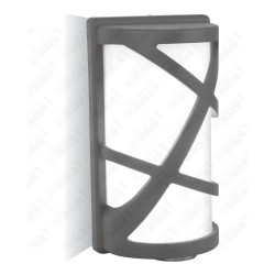 Wall Lamp E27 Dark Grey