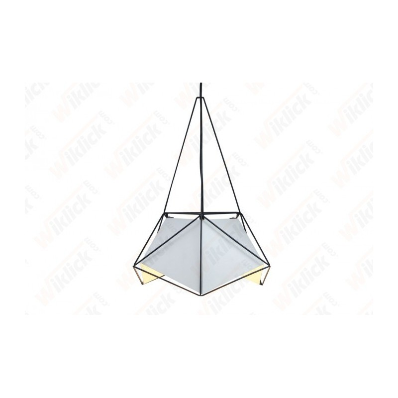 Pendant Light Basics Net Prism White Lampshade 400*540mm