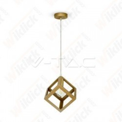 Pendant Light Champean Gold With Gold Canopy