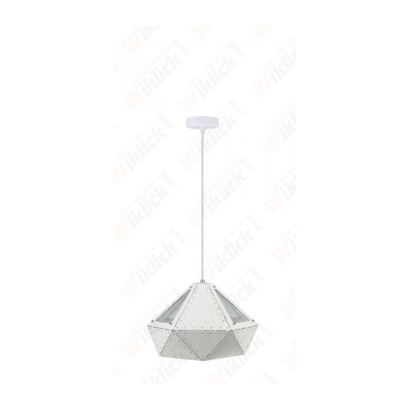 Pendant Light Pastel Prism White 310*180mm