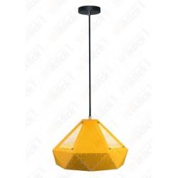Pendant Light Pastel Prism Yellow 310*180mm