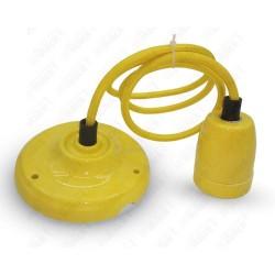 Porcelan Lamp Pendant Yellow