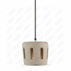 Pendant Light Concrete+Lampshade 200/200??