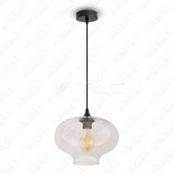 Pendant Light Globe Artistic Glass Transparent ?280??