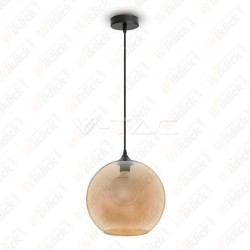 Pendant Light Globe Glass Amber ?300??