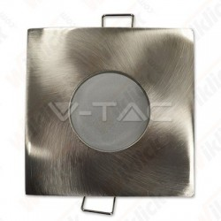 GU10 Fitting Square Satin Nickel