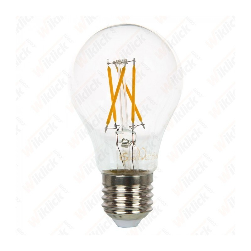 LED Bulb - 4W E27 Filament Cross 2700K Dimmable