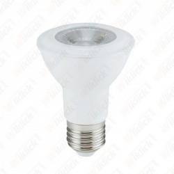 V-TAC VT-220 Lampadina LED E27 7W PAR20 Chip Samsung luce bianco caldo