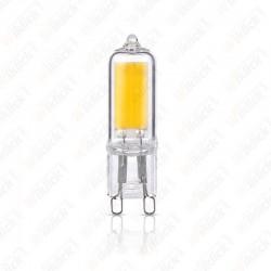 V-TAC VT-2102 Faretto LED G9 2W 230V 2700K (Blister 2 Pezzi) - SKU 7340