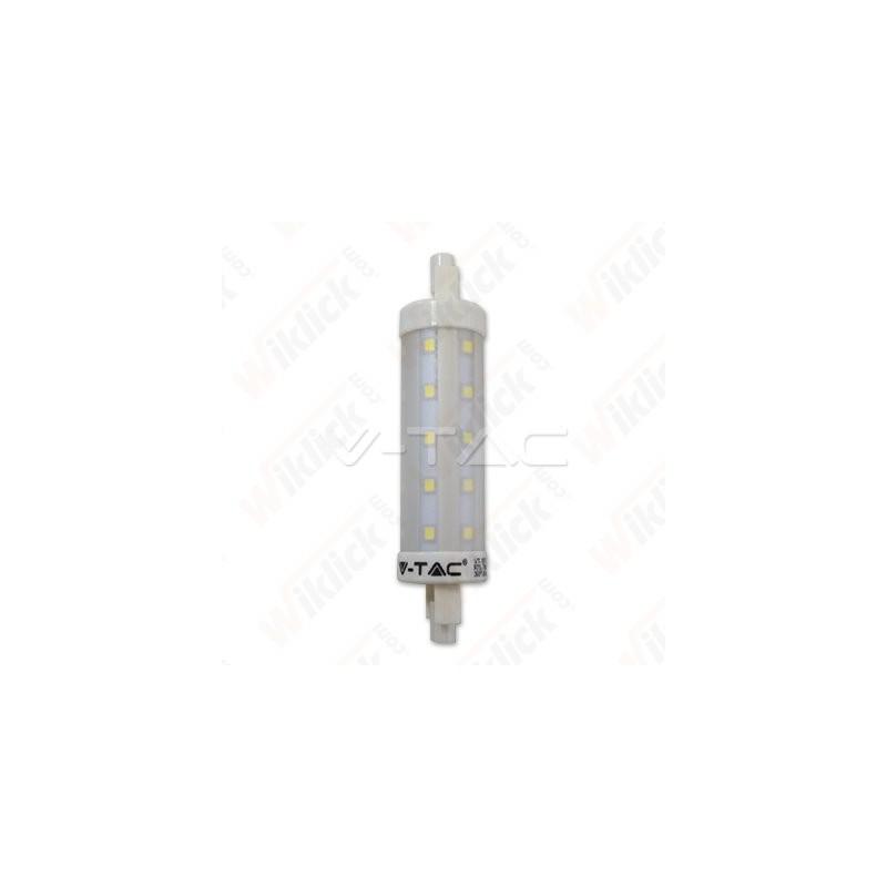 VT-1917 LED Bulb - 7W R7S 118mm Plastic 4500K