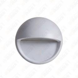 VT-1182 3W LED Step Light Grey Body Round 3000k