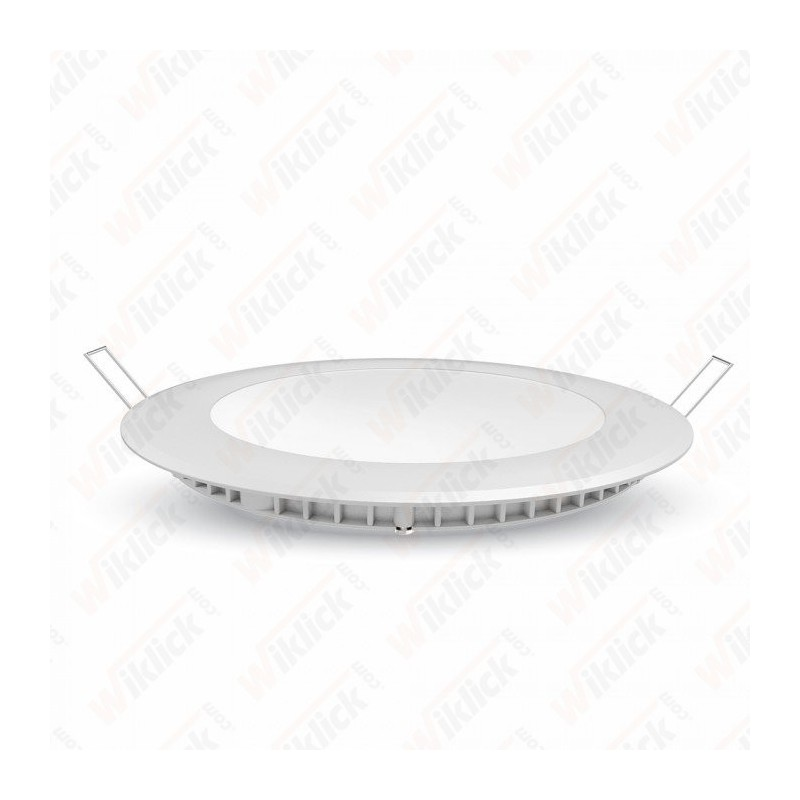 VT-2207 22W LED Slim Panel Light 3000K Round