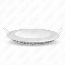 VT-2207 22W LED Slim Panel Light 6400K Round