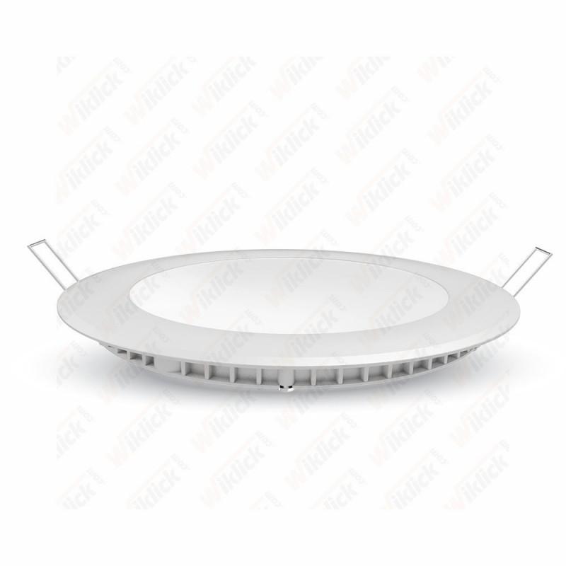 VT-607 6W LED Premium Panel Downlight - Round 3000K
