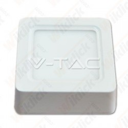 VT-1408SQ 8W LED Surface Panel Downlight - Square 3000K