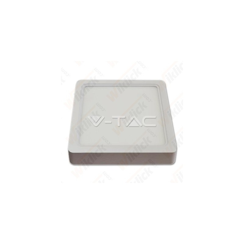 VT-1422SQ 22W LED Surface Panel Downlight - Square 3000K