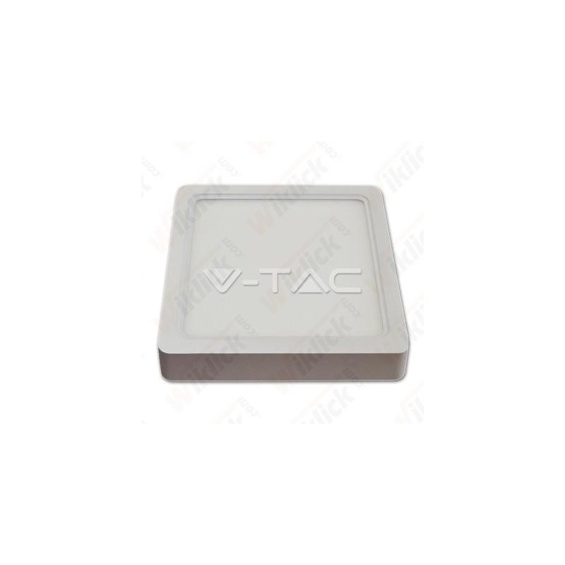 VT-1422SQ 22W LED Surface Panel Downlight - Square 3000K
