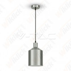 VT-8175 Chrome Pendant Light Holder Diametro 175