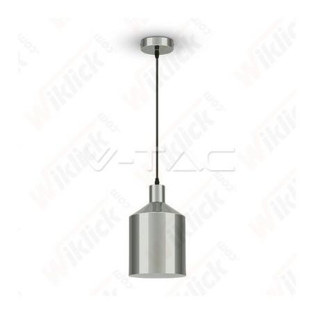 VT-8175 Chrome Pendant Light Holder Diametro 175