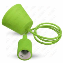 VT-7228 E27 Pendant Holder Green
