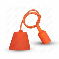 VT-7228 E27 Pendant Holder Orange