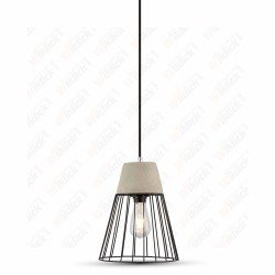 VT-7253 Pendant Light Concrete+Mesh ?250??