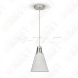 VT-7520 Modern Pendant Light Red Cooper+Sand White Diametro 220