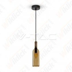 VT-7558 Bottle Pendant Light Brown