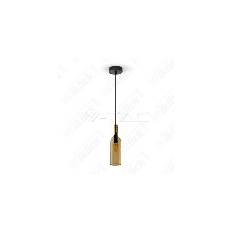 VT-7558 Bottle Pendant Light Brown