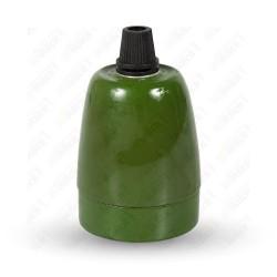 VT-799 Porcelan Lamp Holder Fitting Green