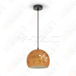 VT-8250 Rose Gold Pendant Light Holder Diametro 250
