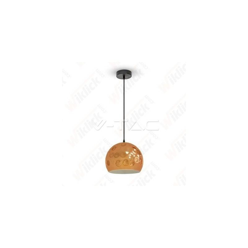VT-8250 Rose Gold Pendant Light Holder Diametro 250