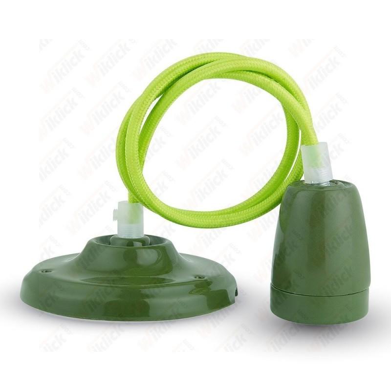 VT-7998 Porcelan Lamp Pendant Green