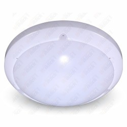 VT-8001 C 16W Dome LED Light With Sensor Microwave 3000K