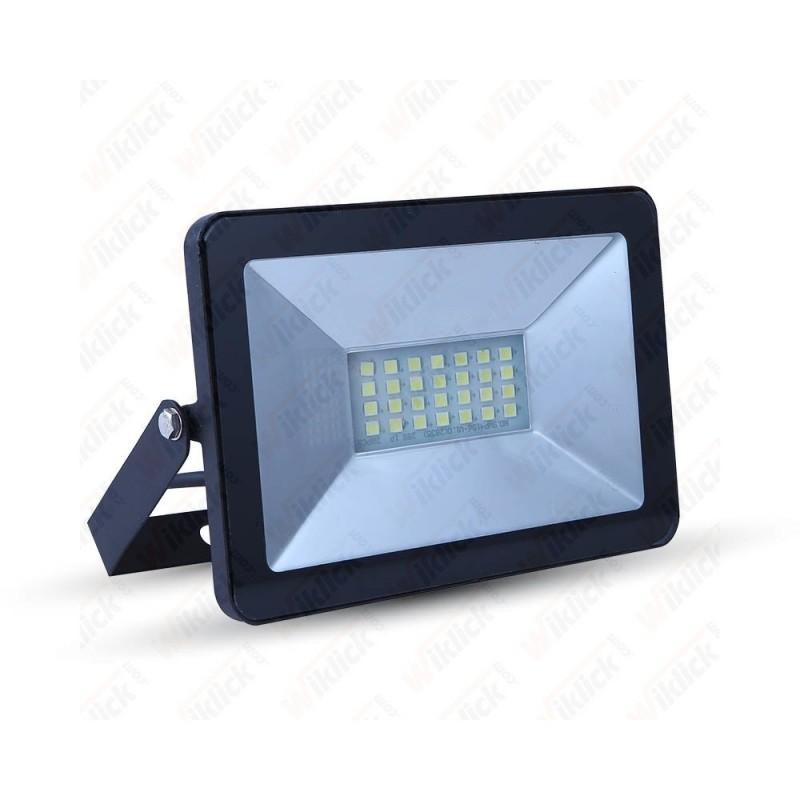 VT-4611 10W LED Floodlight I-Series Black Body 6000K