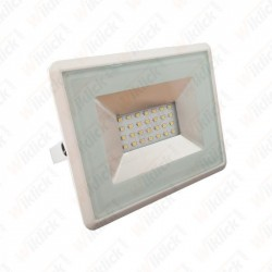 VT-4021 20W LED Floodlight E-Series SMD White Body 3000K