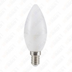 V-TAC VT-2097 LAMPADINA LED E14 7W CANDELA LUCE BIANCO NATURALE
