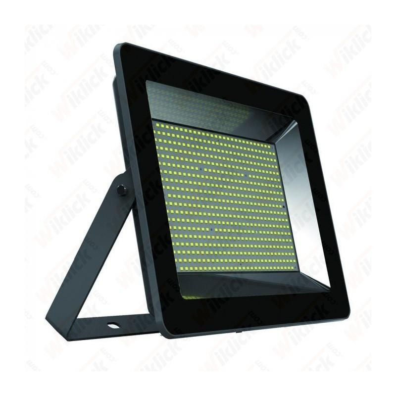 VT-46200 200W LED Floodlight I-Series Black Body 6000K