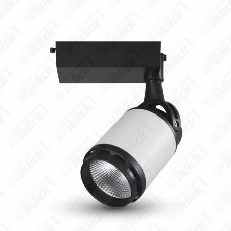 VT-4537 35W LED Track Light Black&White Body 3000K