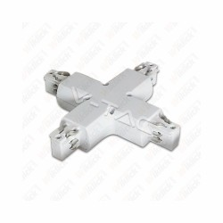 4X Track Light Accesory White