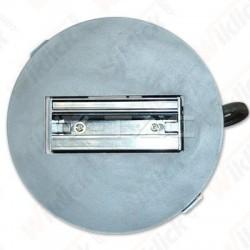 VT-7110 Ceiling Track 130mm 4 Core Track Black Body